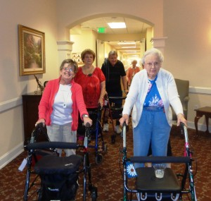 Resident Walking group