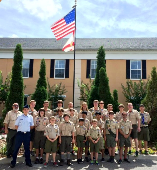The Bridges Assisted Living Recipient of Eagle Scout Project